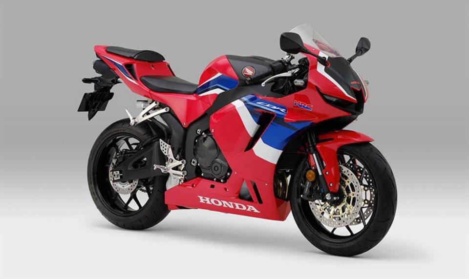 Moto - News: Eccola di nuovo! Honda CBR 600RRR (ma solo per il Giappone)