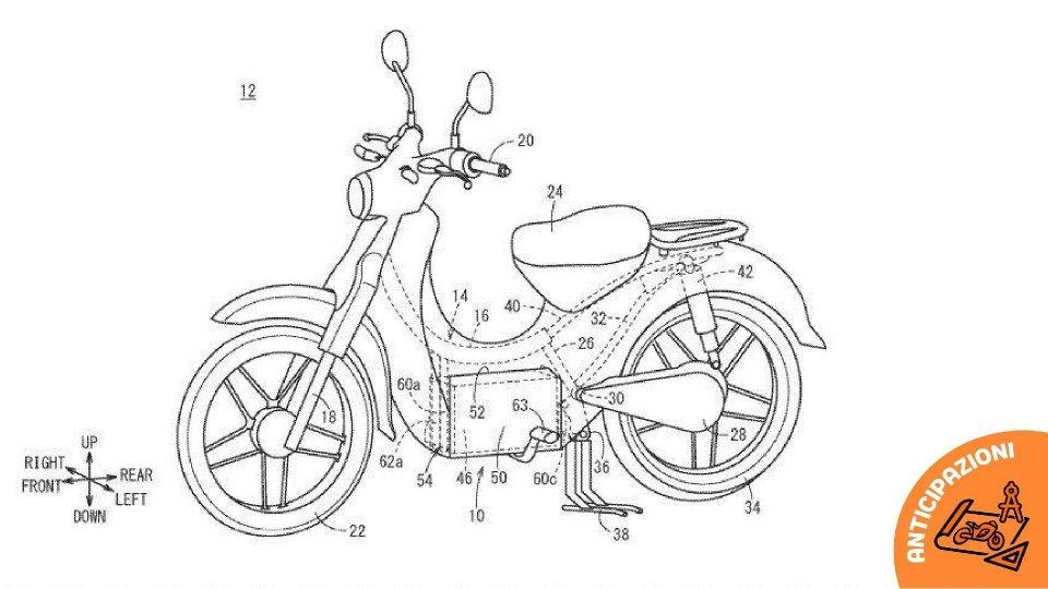 Moto - News: Honda al lavoro su una versione elettrica dello scooter Super Cub?