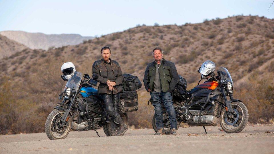 Moto - News: Ewan McGregor e Harley-Davidson LiveWire protagonisti su Apple TV
