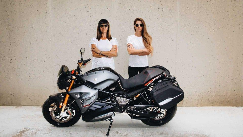 Moto - News: Girls Energica Tour, 1.000 km in elettrico tutti al femminile