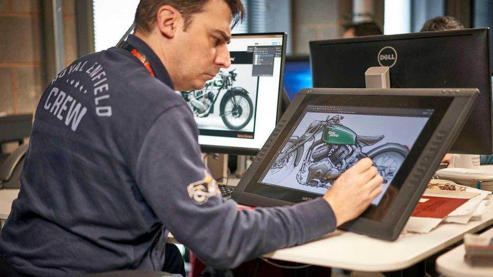 Moto - News: Royal Enfield, la prima moto elettrica si avvicina