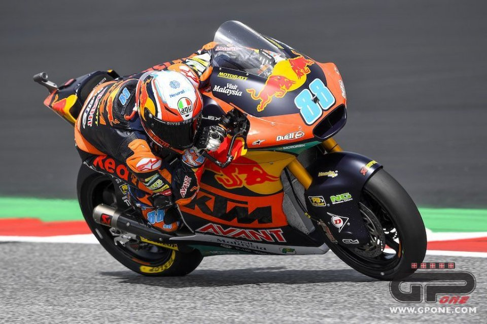 Moto2: In Austria prima gioia per Martin, Marini è 1° nel mondiale
