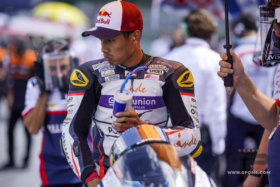 Moto2: GP di Stiria: Syahrin vuole correre dopo il terribile incidente