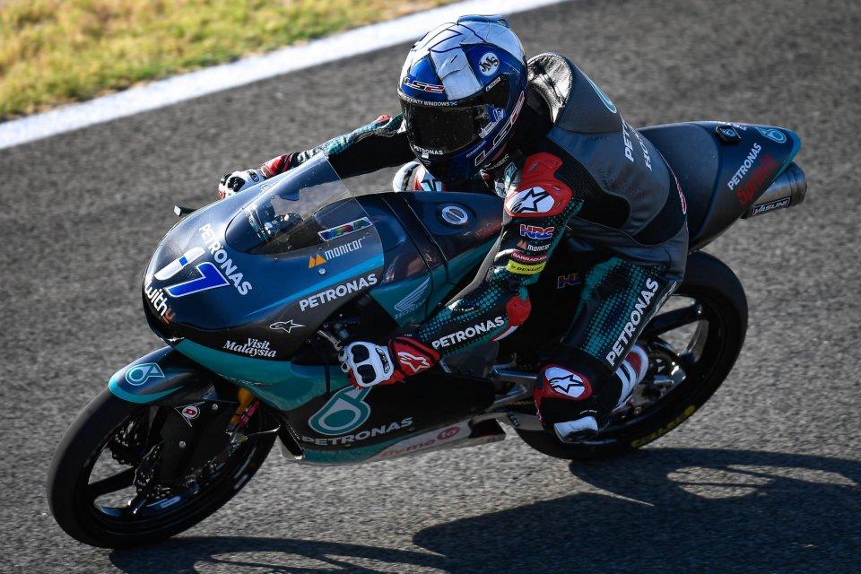 Moto3: FP2: Mcphee il più veloce prima della pioggia, 4° Foggia