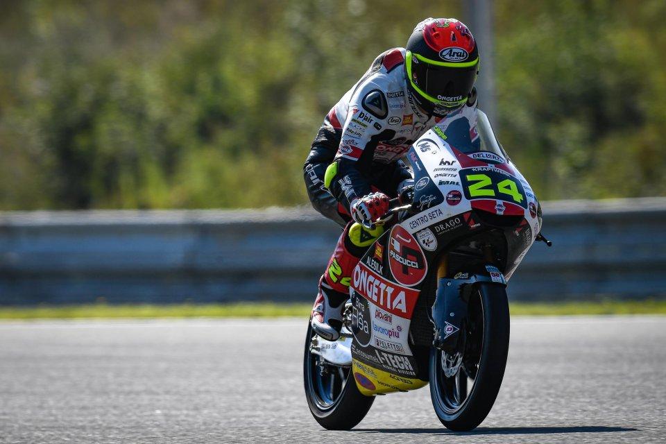 Moto3: FP2: Suzuki comanda in Stiria, 3° Arbolino