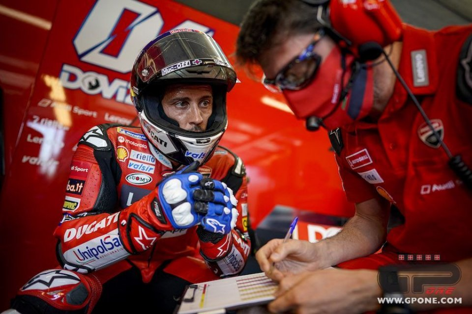 """MotoGP: Dovizioso: """"Binder a Jerez andava più forte di me. Il futuro? Tra poco"""""""