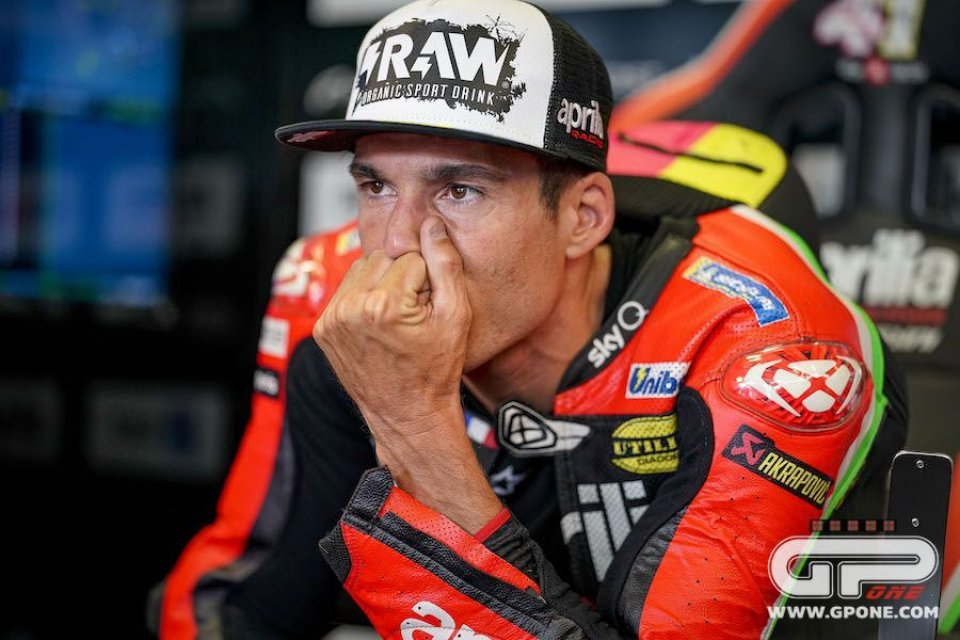 """MotoGP: A.Espargarò, paura per Rossi: """"Zarco sempre in mezzo a questi incidenti"""""""
