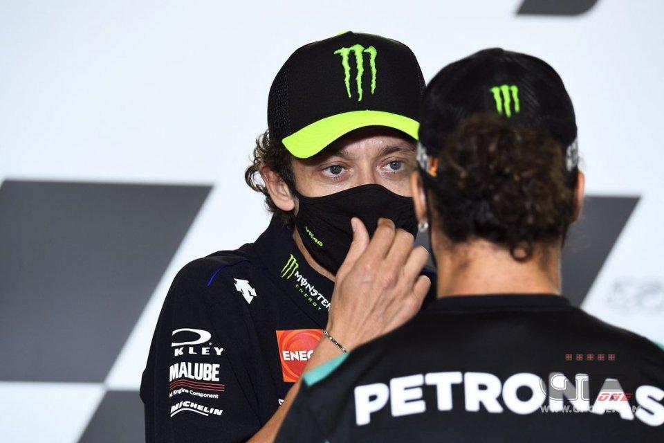 """MotoGP: Rossi: """"Il campionato è molto aperto, a decidere saranno le gomme"""""""