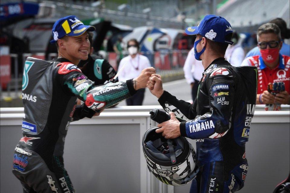 """MotoGP: Vinales e Quartararo: """"I motori Yamaha non hanno più problemi"""""""