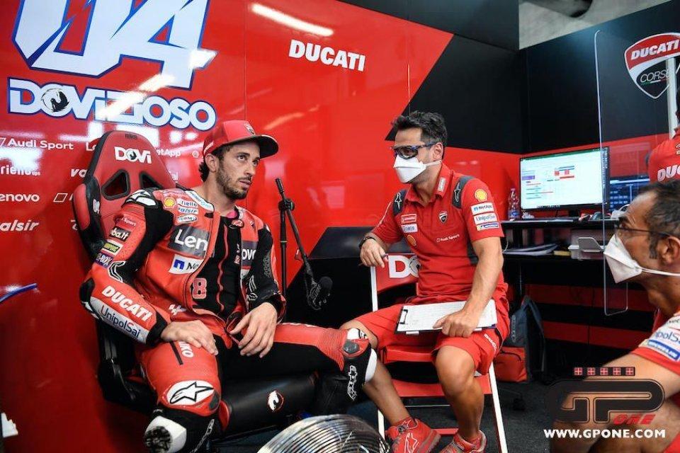 """MotoGP: La crisi di Dovizioso: """"Il contratto? Sono umano, tutto mi influenza"""""""
