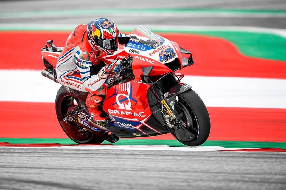 """MotoGP: Miller: """"Gomme e asfalto stanno facendo la differenza al Red Bull Ring"""""""