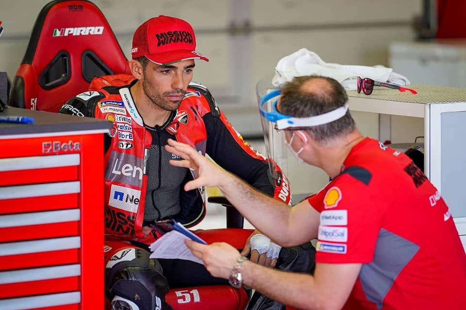 """MotoGP: Pirro sull'addio di Dovizioso: """"la Ducati deve pensare ai giovani"""""""