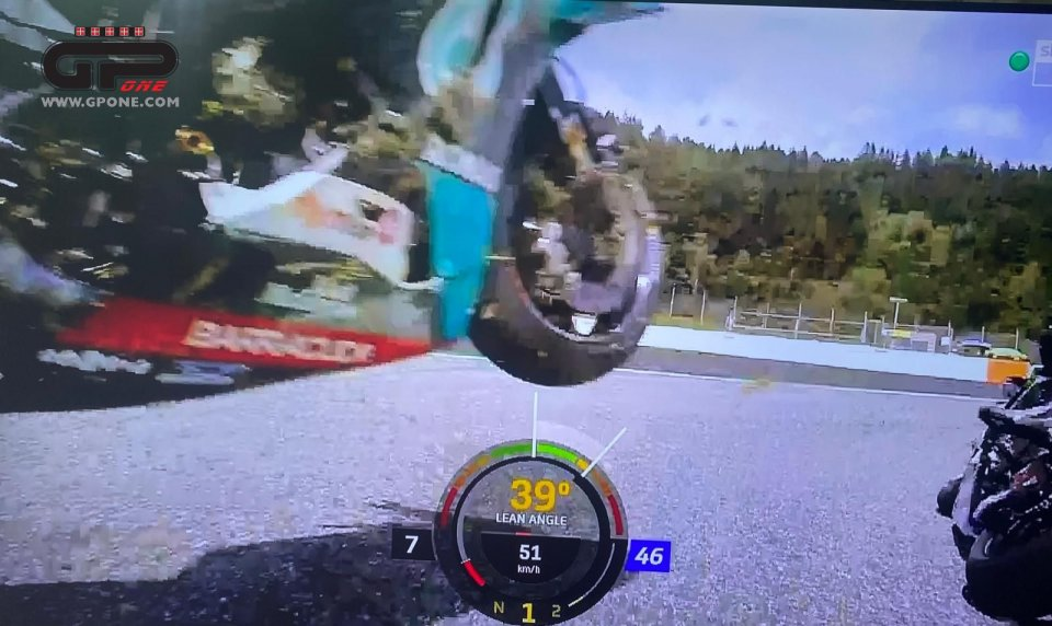 MotoGP: NEAR TRAGEDY Zarco-Morbidelli: the photosequence of the collision at 300!