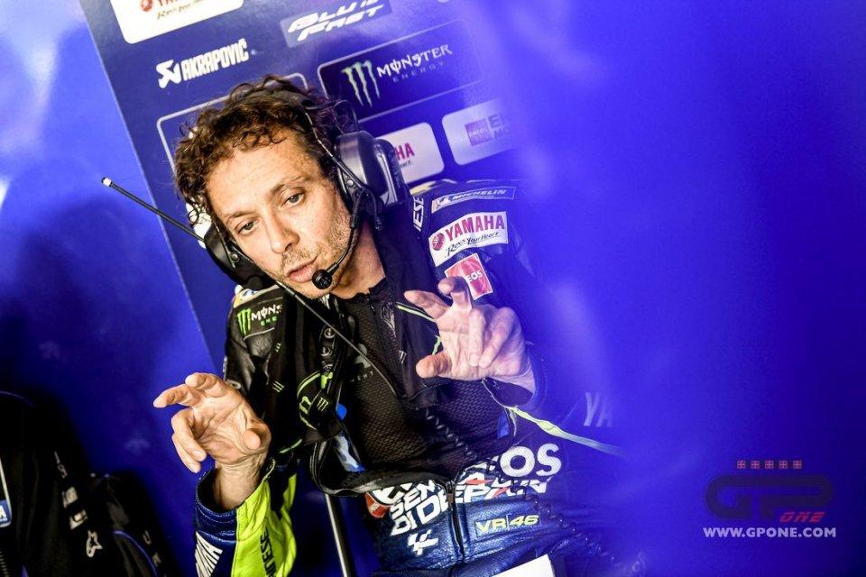 """MotoGP: Rossi: """"Campionato aperto, senza Marquez sono tutti ringalluzziti"""""""