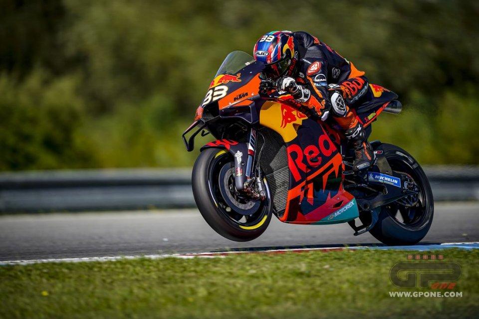 MotoGP: Brno MotoGP: Binder prima vittoria con la KTM! Morbidelli 2°, Zarco 3°