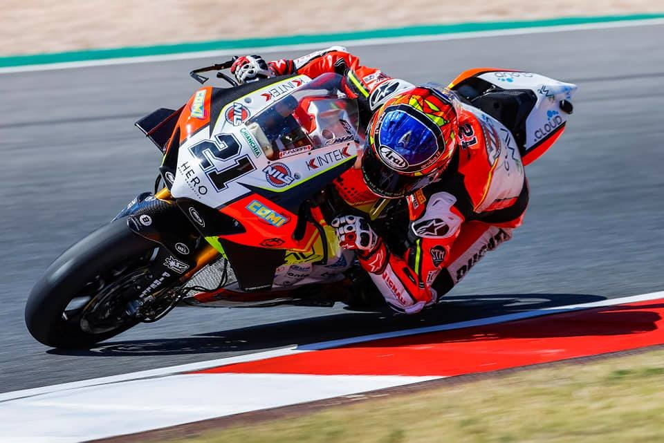 """SBK: Rinaldi: """"I want to stay with Ducati, but I don't choose the team"""""""