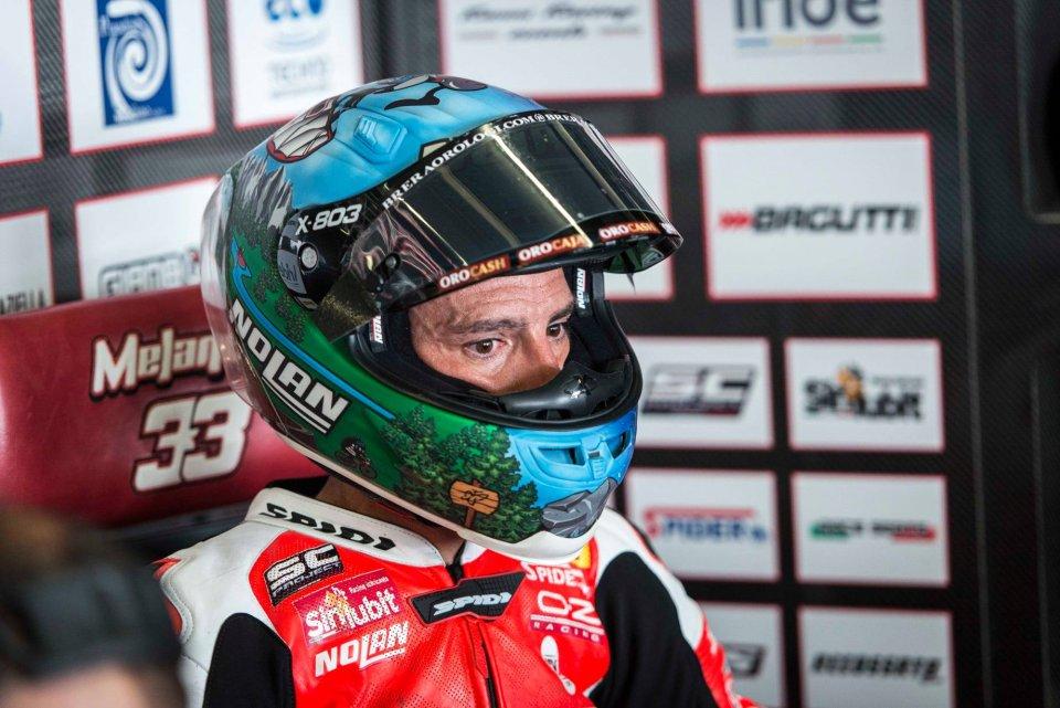 """SBK: Melandri: """"Tra Dovizioso e la Ducati non è finita, c'è uno spiraglio"""""""