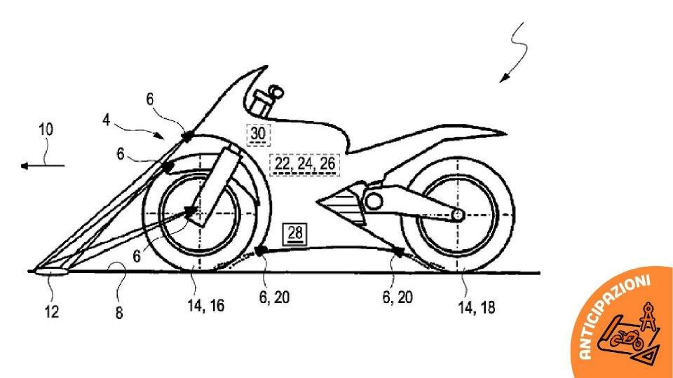 """Moto - News: BMW brevetta il controllo di trazione """"intelligente"""""""