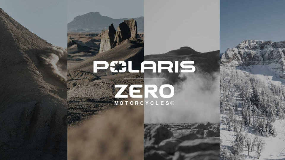 Moto - News: Zero e Polaris insieme per lo sviluppo di veicoli elettrici