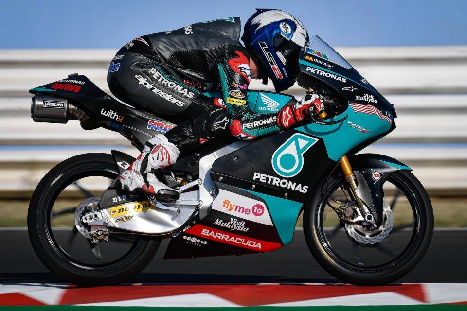 Moto3: FP3: Mcphee si impone di un soffio su Vietti