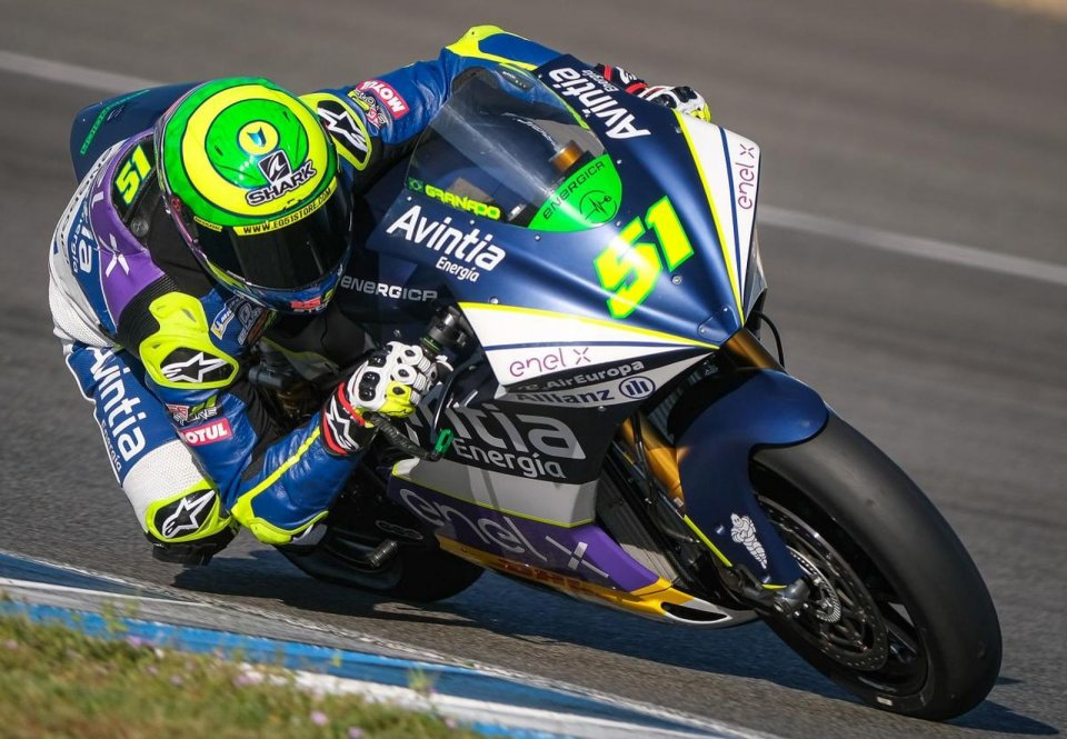 MotoE: Record for Eric Granado, a change introduced for Race 2 grid