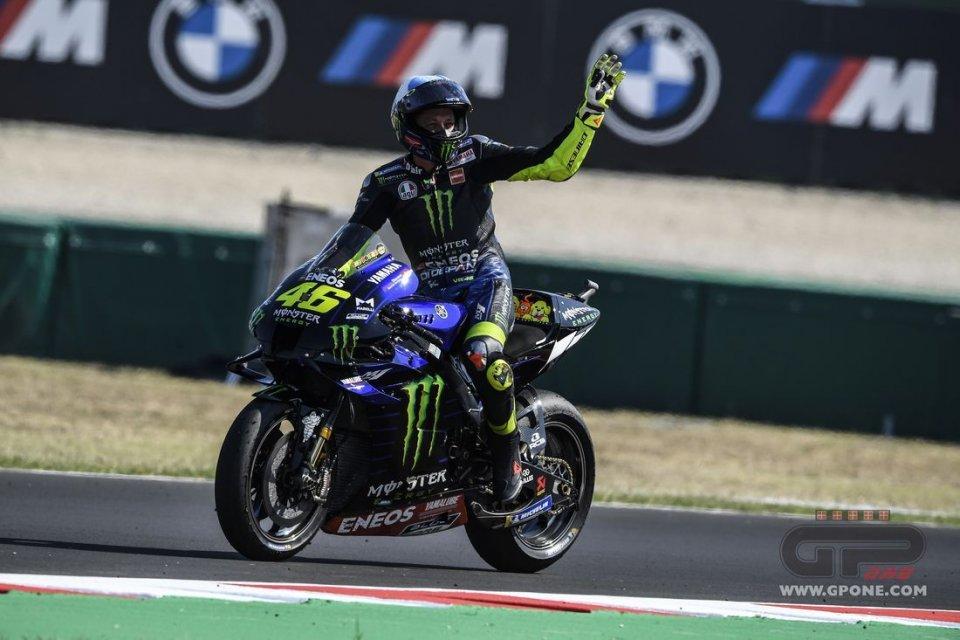 """MotoGP: Rossi: """"Con Morbidelli e Bagnaia oggi avrei potuto scrivere la storia"""""""