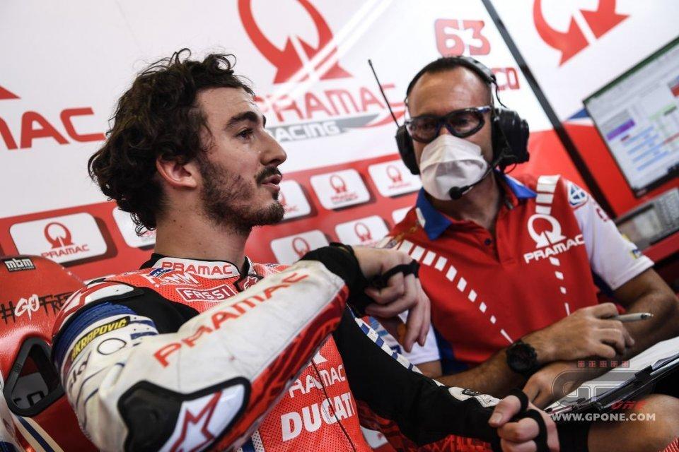 """MotoGP: Bagnaia: """"Doppio GP? Si arriva al limite delle gomme, non delle moto"""""""