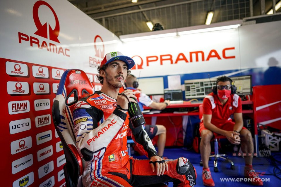 """MotoGP: Bagnaia: """"If Zarco wins here he could take the factory Ducati bike from me"""""""