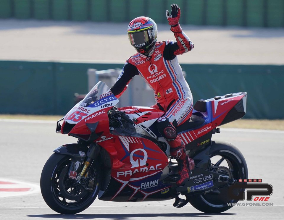 MotoGP: Bagnaia struggles through the pain barrier to finish a superb second
