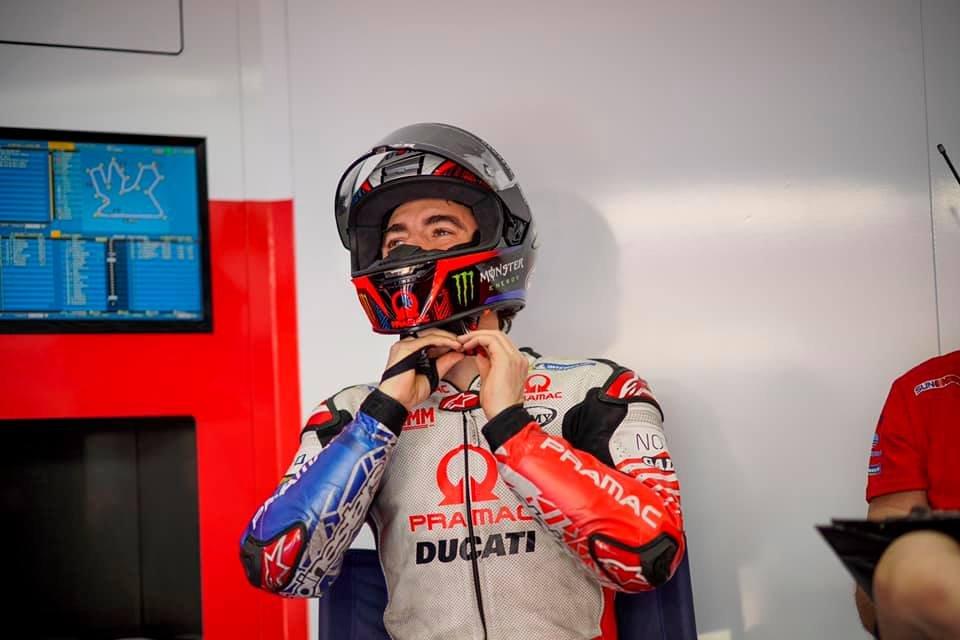 """MotoGP: Bagnaia: """"Ho perso 4 kg, spero di finire la gara domenica"""""""