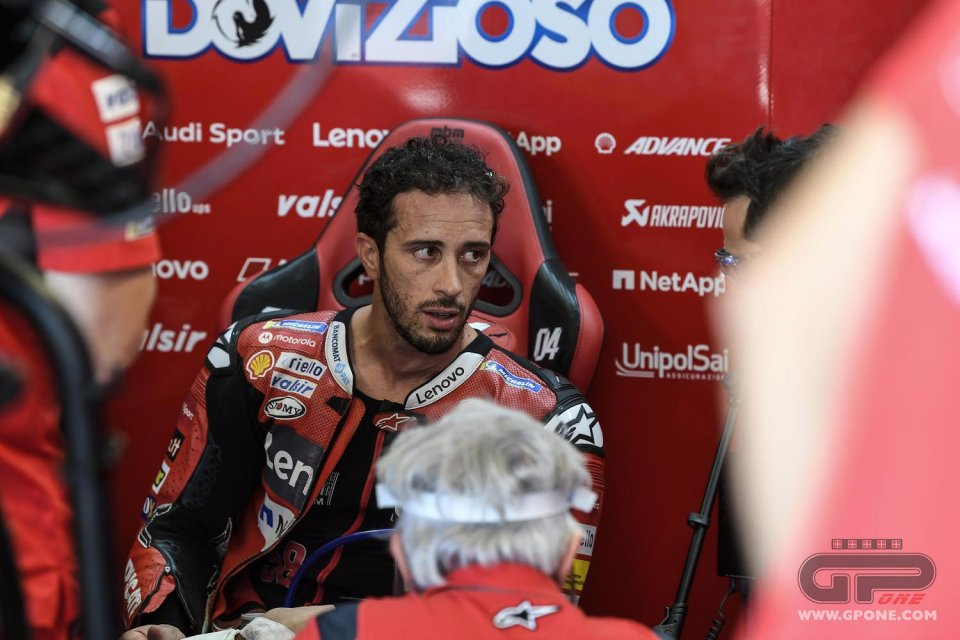 """MotoGP: Dovizioso: """"I'm 'unemployed' because of a lost bet"""""""