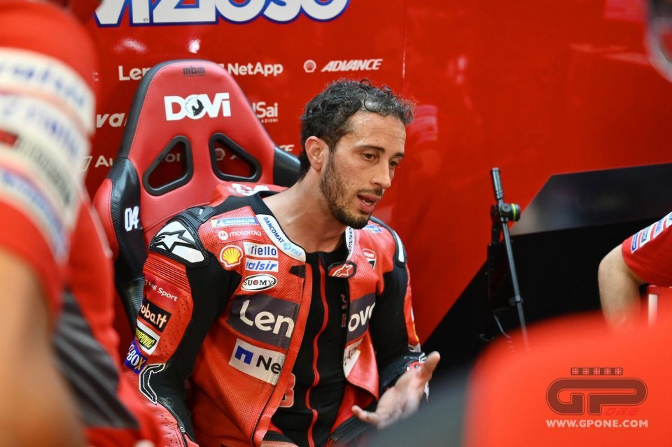 "MotoGP: Dovizioso's crisis: ""I look at the classification and laugh. I'm first by going slowly"""