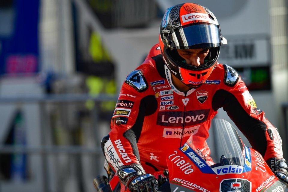 """MotoGP: Petrucci: """"Domani sarà una gara di sopravvivenza"""""""