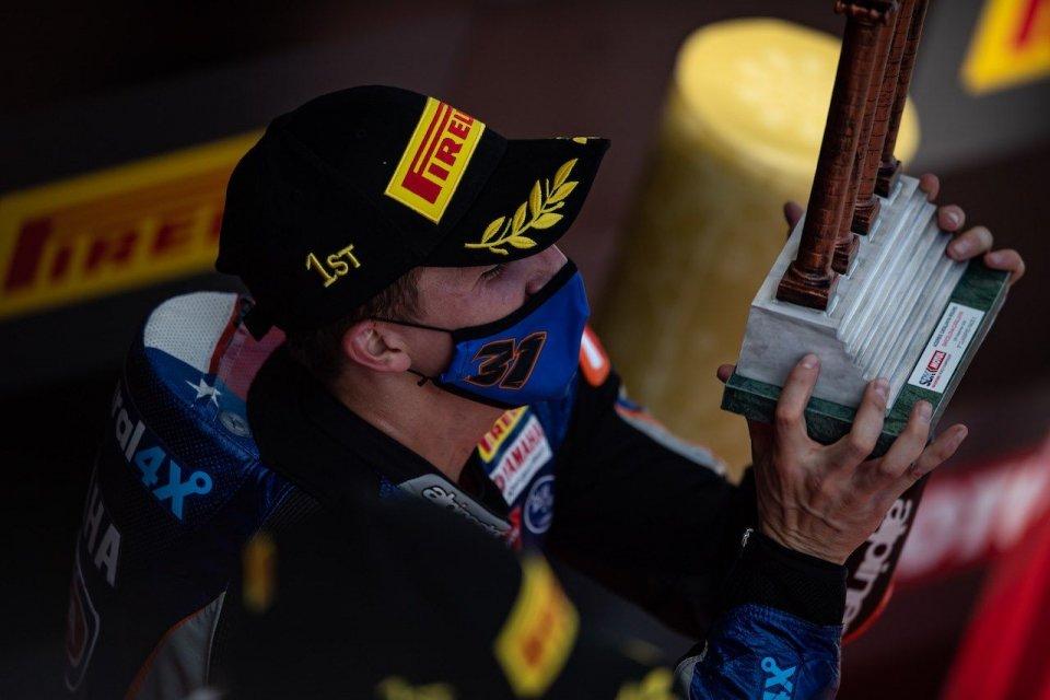 """SBK: Gerloff: """"Il podio è per Hayden, lui mi ha insegnato a essere pilota"""""""