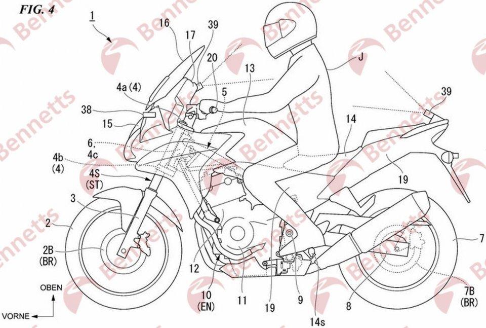 Moto - News: Honda: si va verso la moto con guida autonoma? I dettagli dei nuovi brevetti