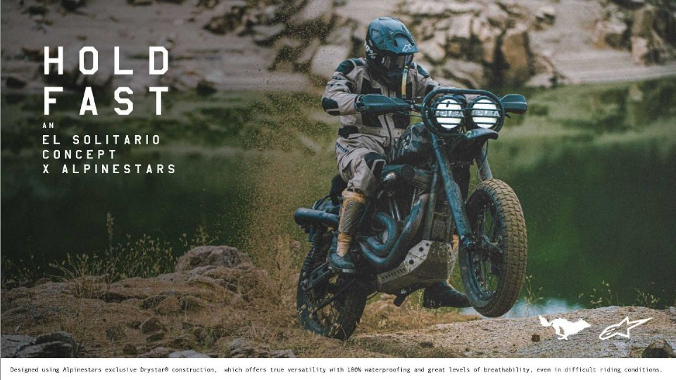 Moto - News: Alpinestars e El Solitario, capsule collection Mowart