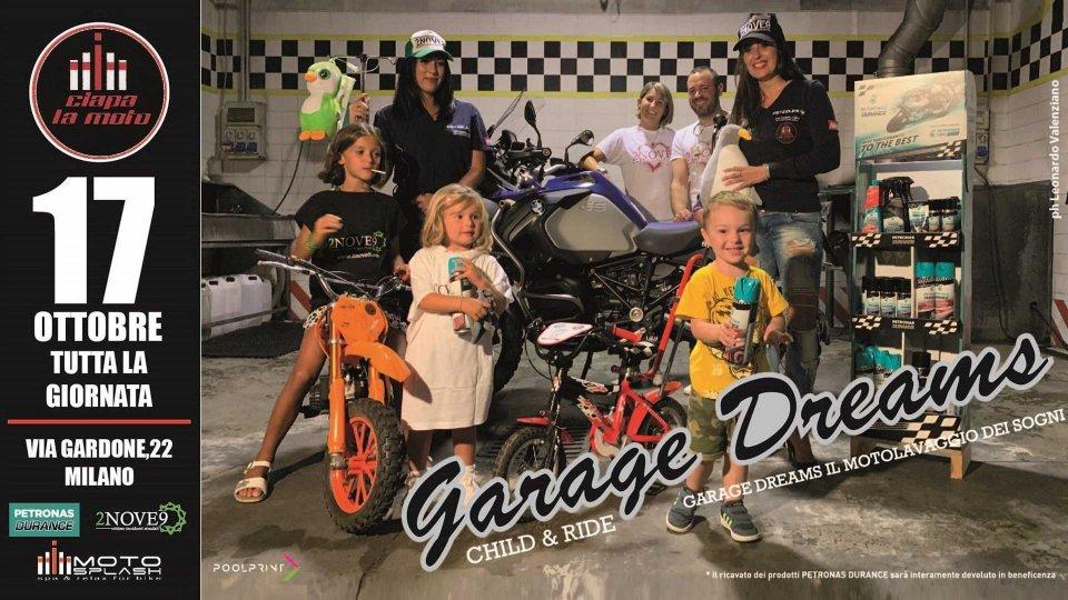 Moto - News: Motosplash e Ciapa la Moto aiutano il Progetto Child & Ride