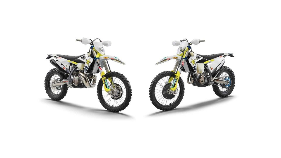 Moto - News: Husqvarna TE 300i e FE 350 Rockstar Edition 2021