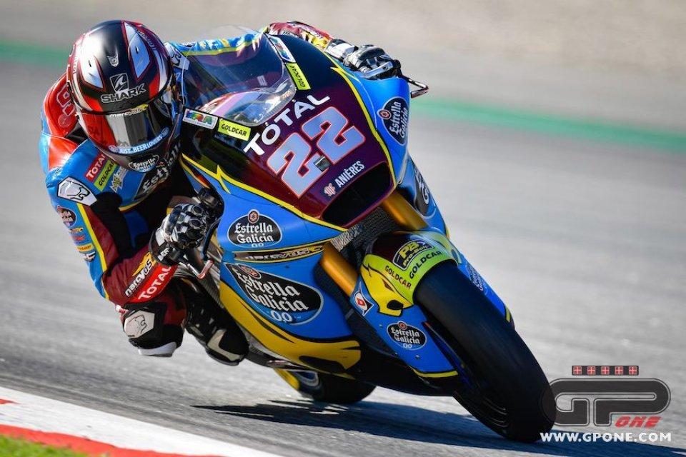 Moto2: FP1: Lowes davanti a tutti ad Aragon, Di Giannantonio 3°