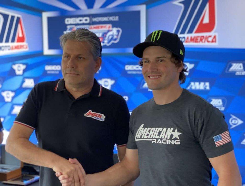 Moto2: Cameron Beaubier in Moto2 con l'American Racing Team nel 2021