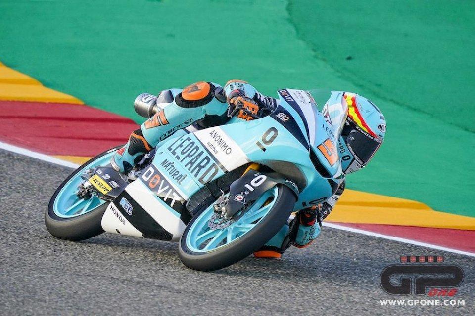 Moto3: Ad Aragon Fenati non contiene Masia nelle FP1 del GP di Teruel
