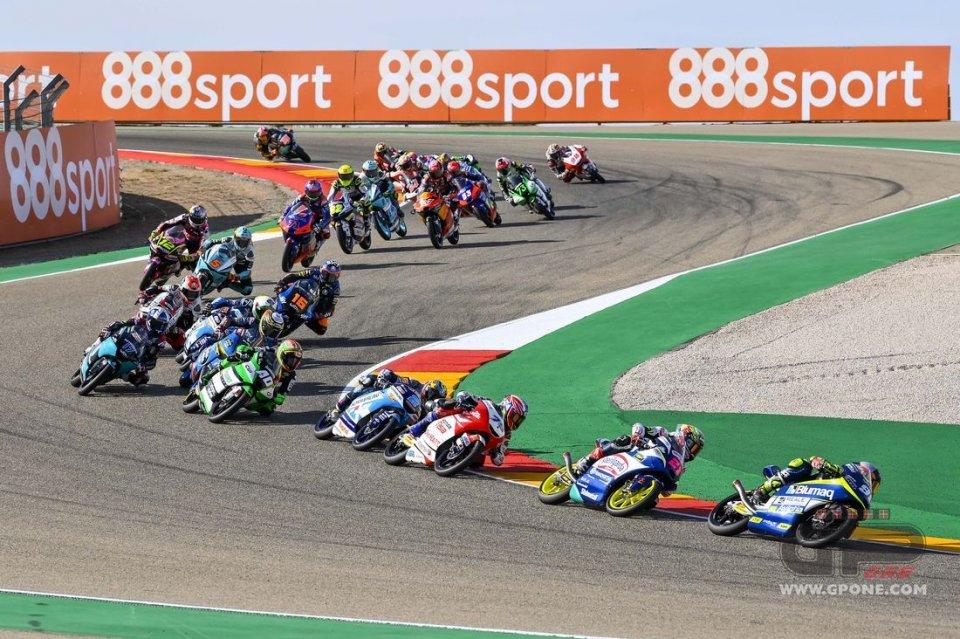Moto3: Giro di vite in Moto3: aspettare la scia può costare la squalifica