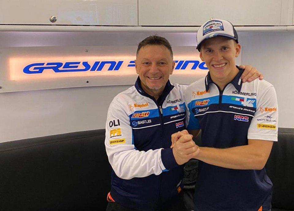 Moto3: Gabriel Rodrigo con Gresini Racing anche nel 2021