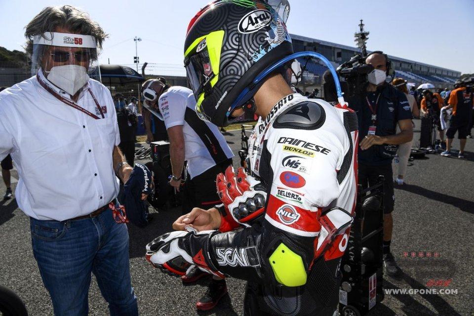 """Moto3: Simoncelli striglia Suzuki e Antonelli: """"una gara da principianti"""""""