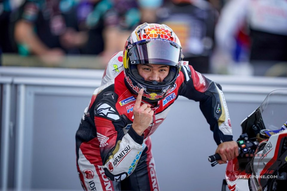 """MotoGP: Nakagami: """"Comparing myself with Marc Marquez gives me energy, he's number 1"""""""