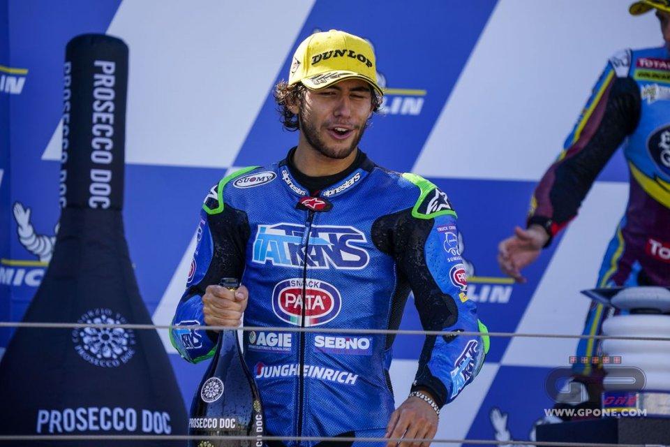 "Moto2: Bastianini: ""Noi piloti siamo egoisti, ma l'amicizia esiste"""