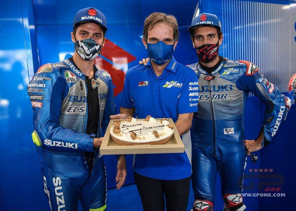 """MotoGP: Brivio: """"In Suzuki siamo romantici, gli ordini di squadra non piacciono"""""""