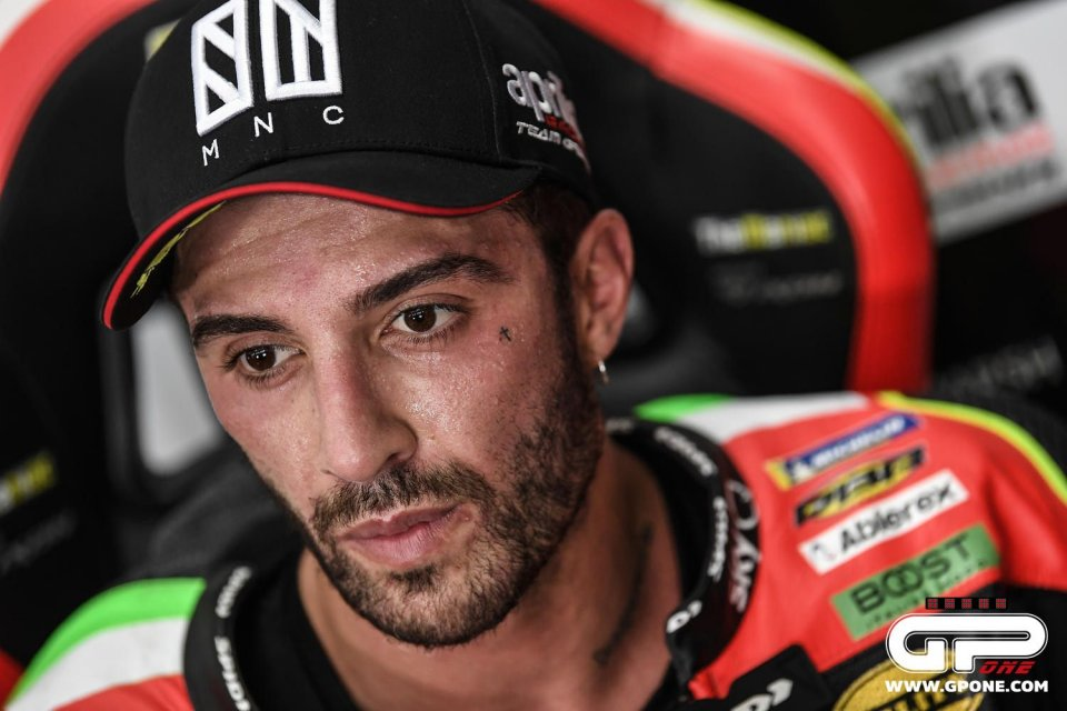"""MotoGP: Iannone: """"My Aprilia is waiting for me: I would have gone well this season"""""""