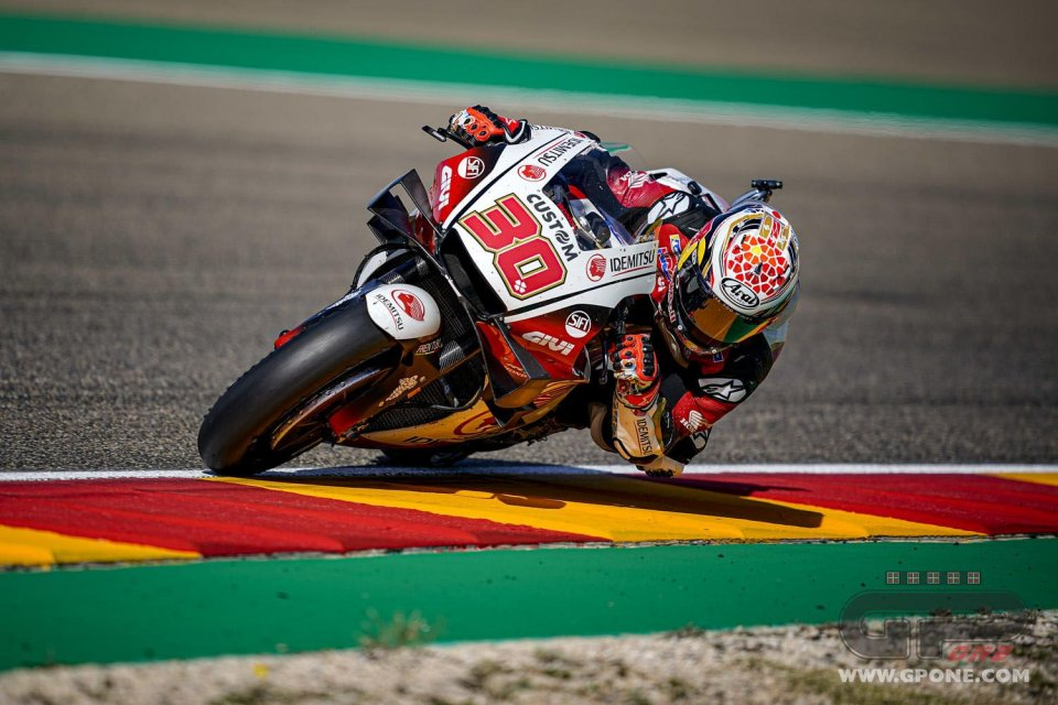 MotoGP: FP2 Teruel: Nakagami festeggia la firma davanti a Vinales. Dovizioso 19°