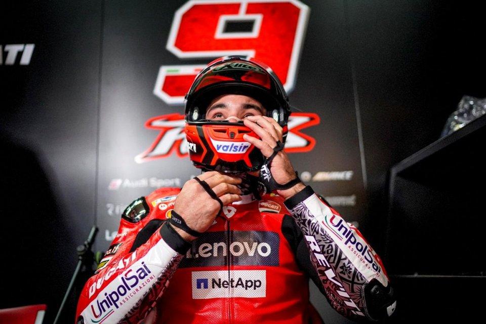 """MotoGP: Petrucci: """"Non siamo riusciti a risolvere i problemi e ce li teniamo"""""""
